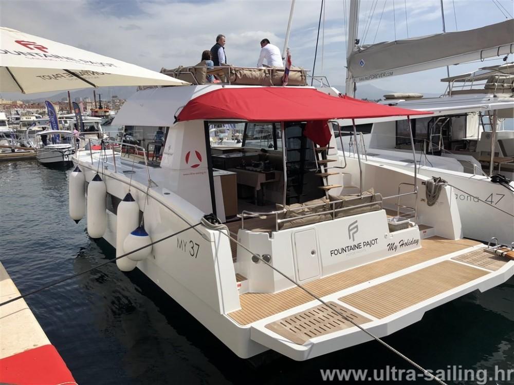 Rental Catamaran in Seget Donji - Fountaine Pajot My 37