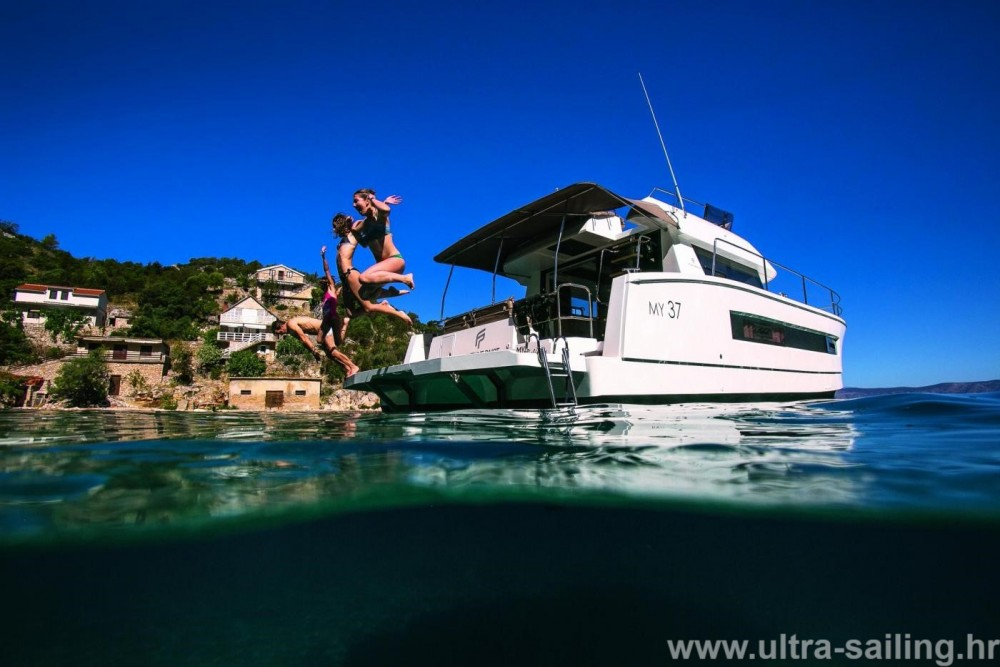 Fountaine Pajot My 37 between personal and professional Seget Donji