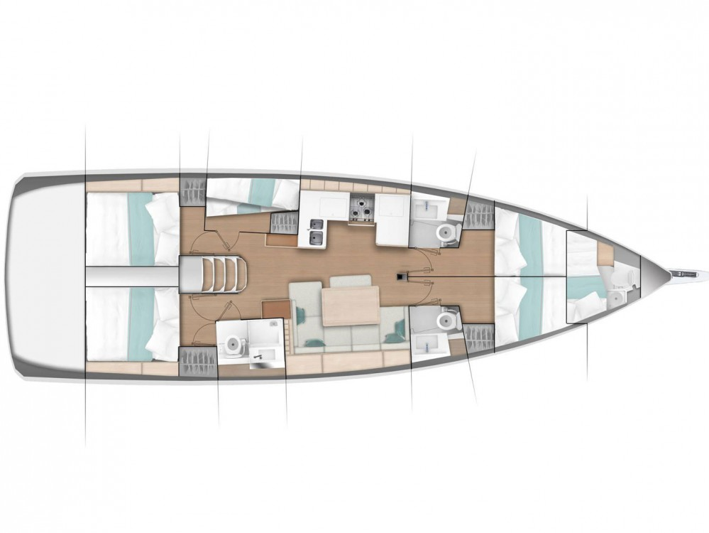 Rental Sailboat in Alimos Marina - Jeanneau Sun Odyssey 490