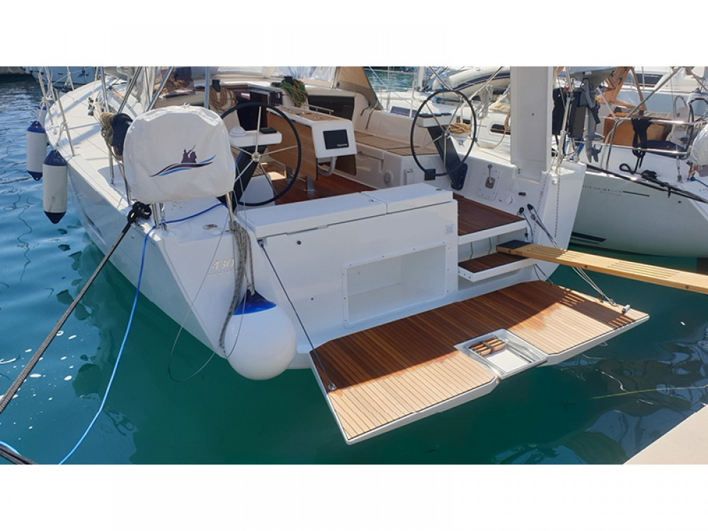 Boat rental Rogoznica cheap Dufour 430 Grand Large