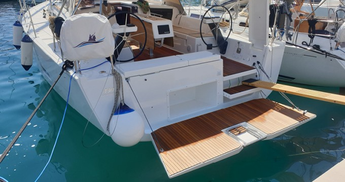 Dufour Dufour 430 Grand Large between personal and professional Rogoznica