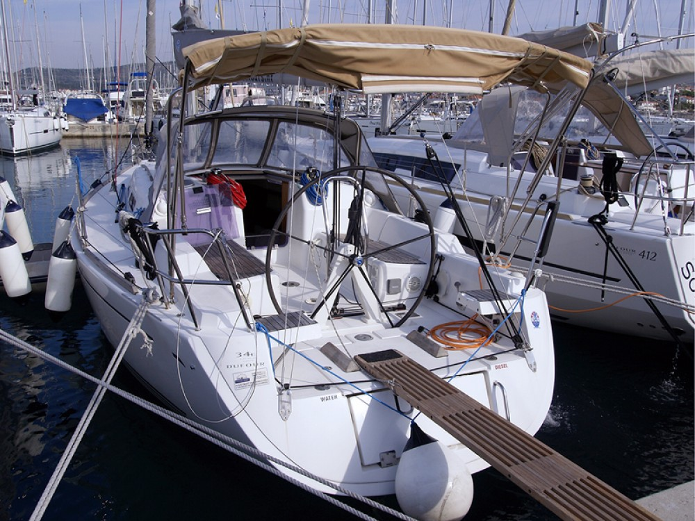 Boat rental Rogoznica cheap Dufour 34 Performance