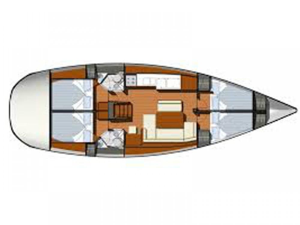 Boat rental Lefkada cheap Sun Odyssey 44 i
