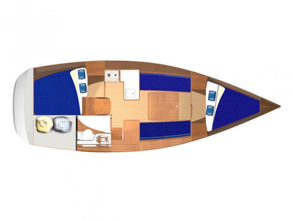 Rental Sailboat in Rogoznica - Dufour Dufour 325 Grand Large