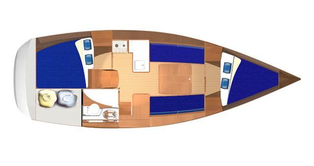 Boat rental Kaštel Gomilica cheap Dufour 325 Grand Large