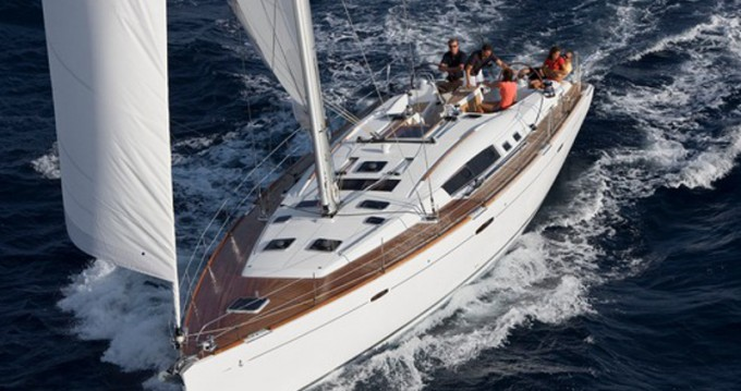 Boat rental Athens cheap Oceanis 54