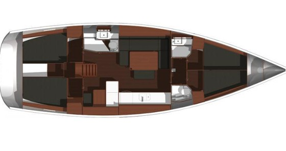 Rental yacht  - Dufour Dufour 445 Grand Large on SamBoat
