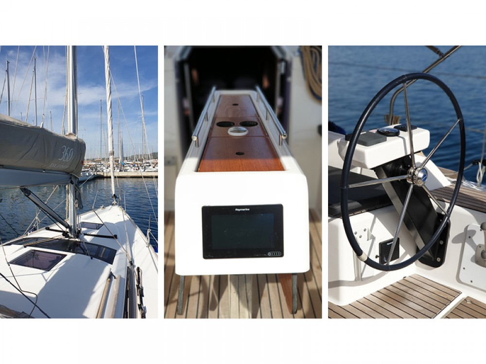 Boat rental Dufour Dufour 360 Grand Large in Rogoznica on Samboat
