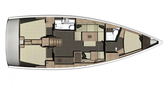 Boat rental Dufour Dufour 410 Grand Large in Rogoznica on Samboat