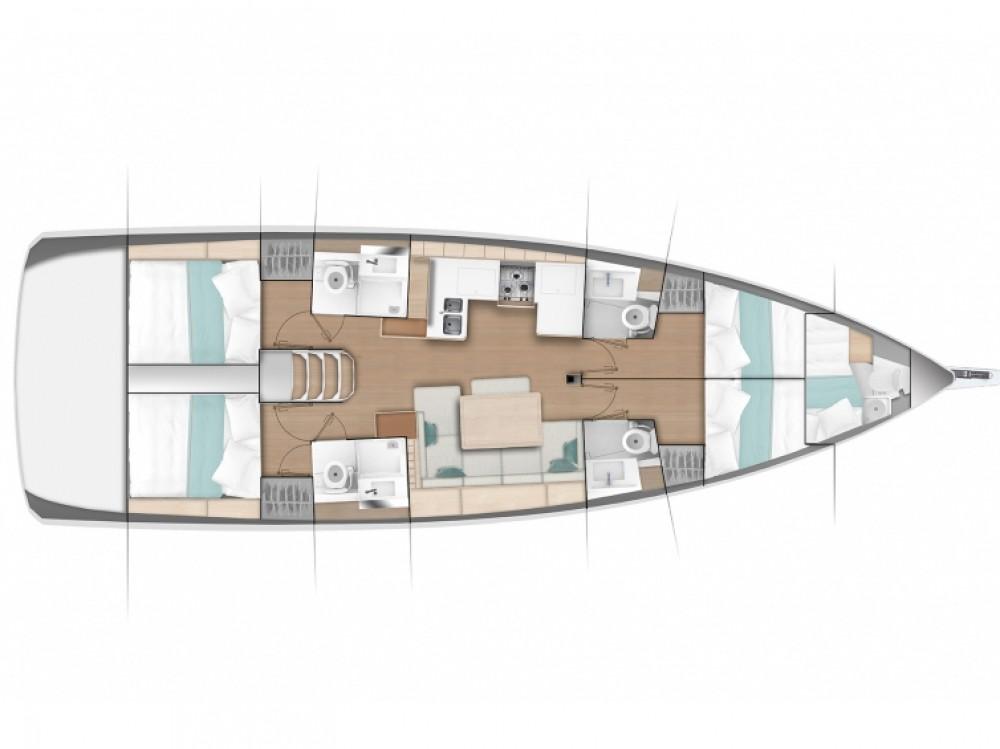 Boat rental Jeanneau Sun Odyssey 490 (4 cbs) in  on Samboat