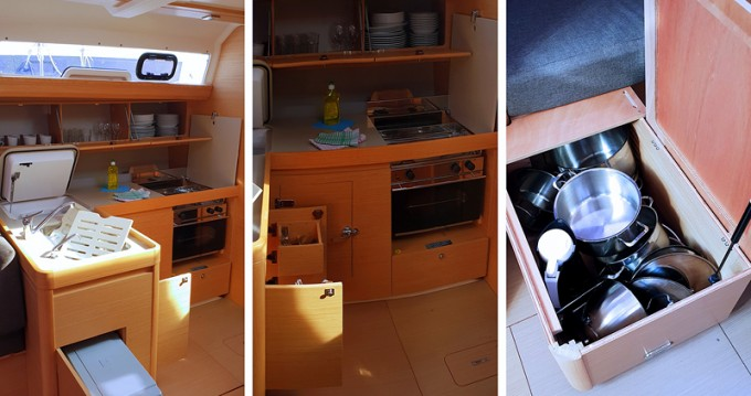Rental yacht Rogoznica - Dufour Dufour 412 Grand Large on SamBoat