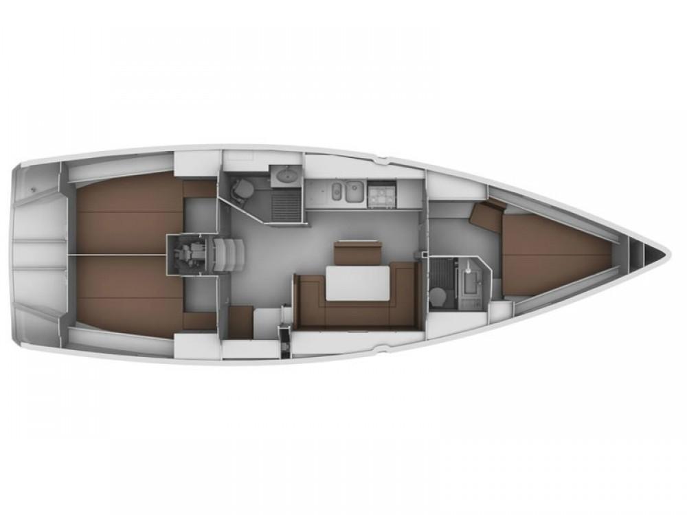 Boat rental Alimos Marina cheap Bavaria Cruiser 40