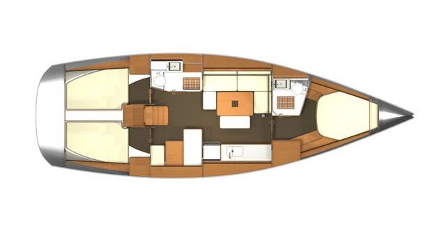 Rental Sailboat in Rogoznica - Dufour Dufour 405 Grand Large