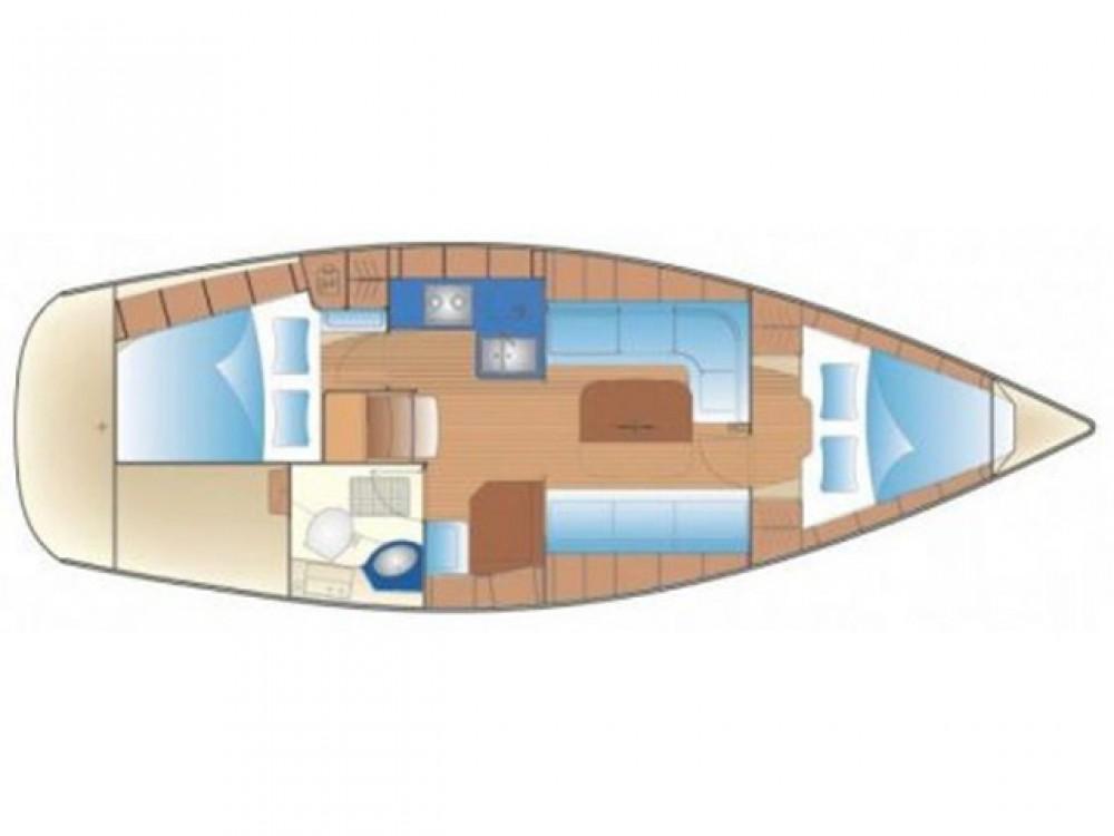 Boat rental Lefkada cheap Bavaria 34 Cruiser