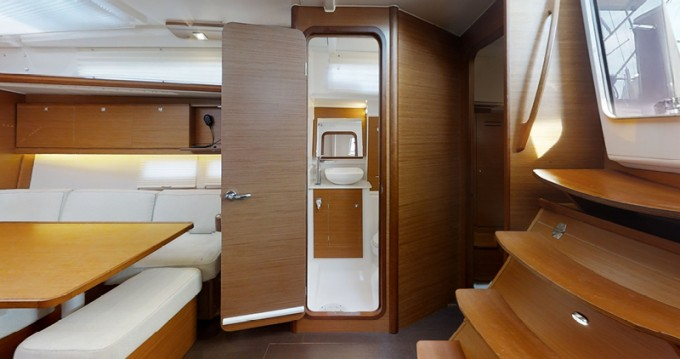 Dufour Dufour 390 Grand Large between personal and professional Rogoznica