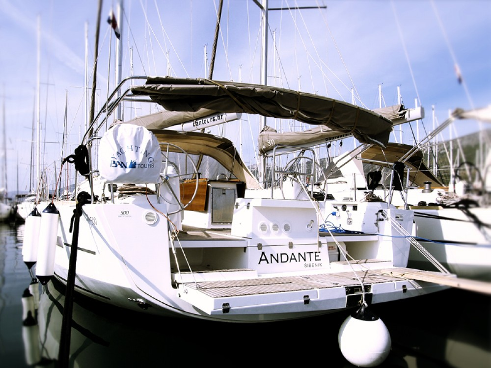 Rental Sailboat in Rogoznica - Dufour Dufour 500 Grand Large