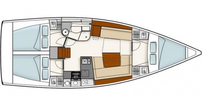 Rental yacht Athens - Hanse Hanse 385 on SamBoat