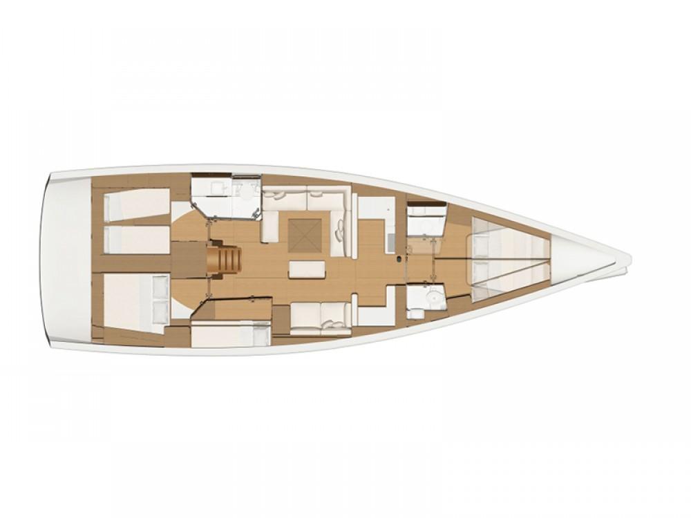 Boat rental Rogoznica cheap Dufour 520 Grand Large