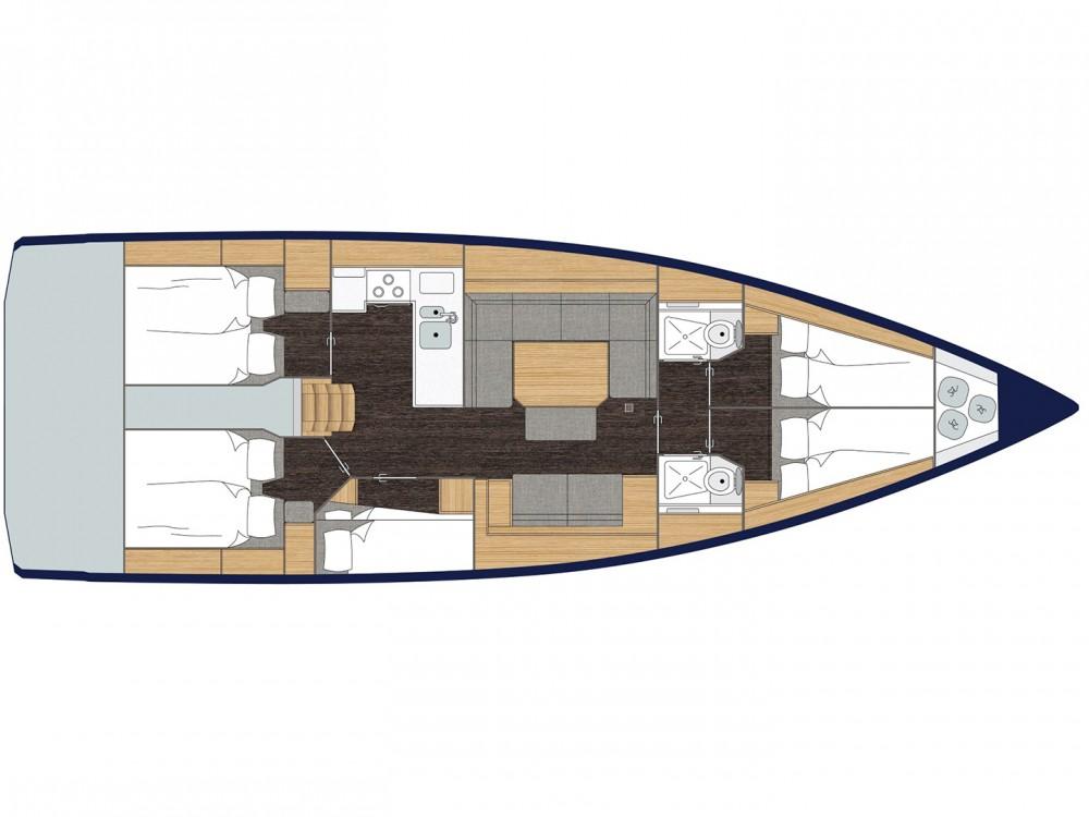 Boat rental Bavaria Bavaria C45 (5 cbs) in  on Samboat