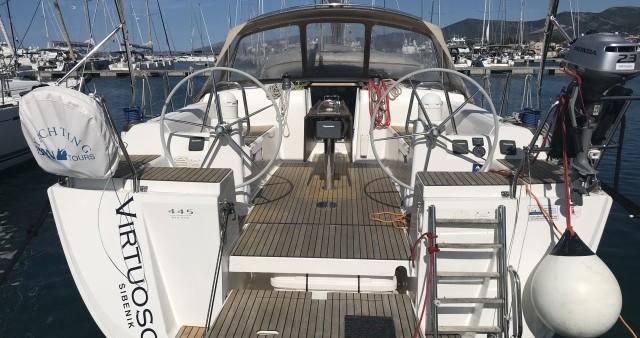 Boat rental Kaštel Gomilica cheap Dufour 445 Grand Large