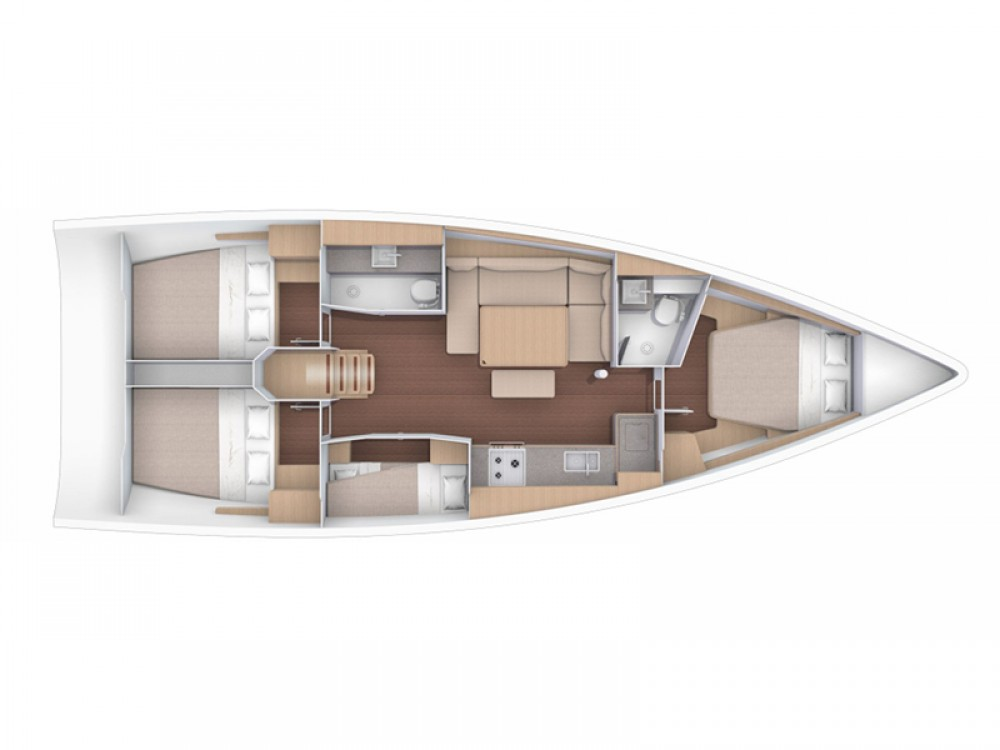 Rental yacht Rogoznica - Dufour Dufour 430 Grand Large on SamBoat