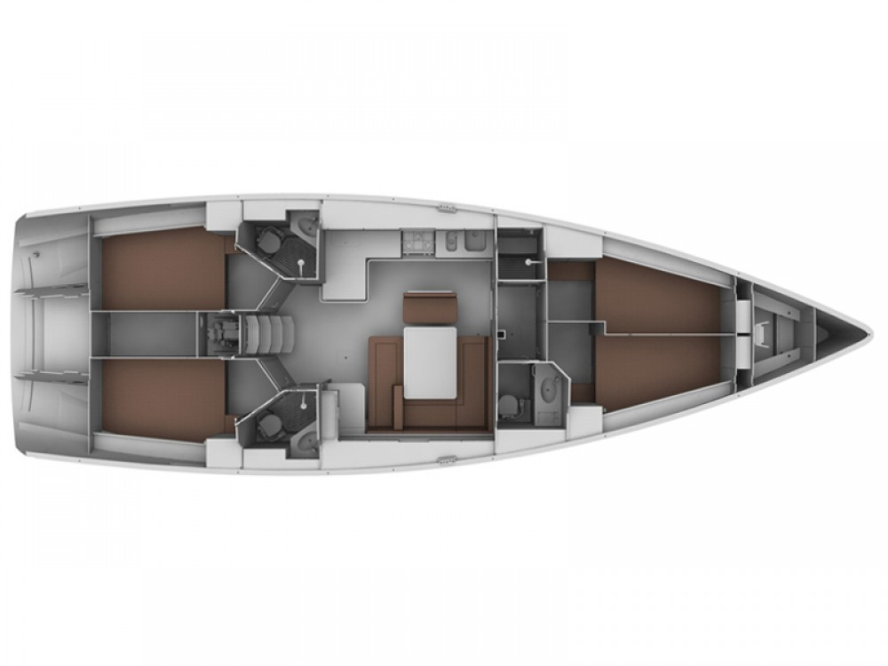 Boat rental Alimos Marina cheap Bavaria Cruiser 45