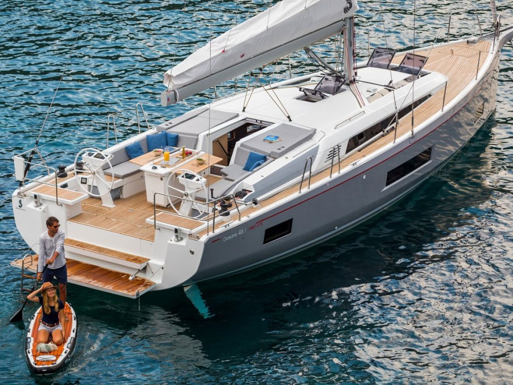 Boat rental Alimos Marina cheap Oceanis 46.1