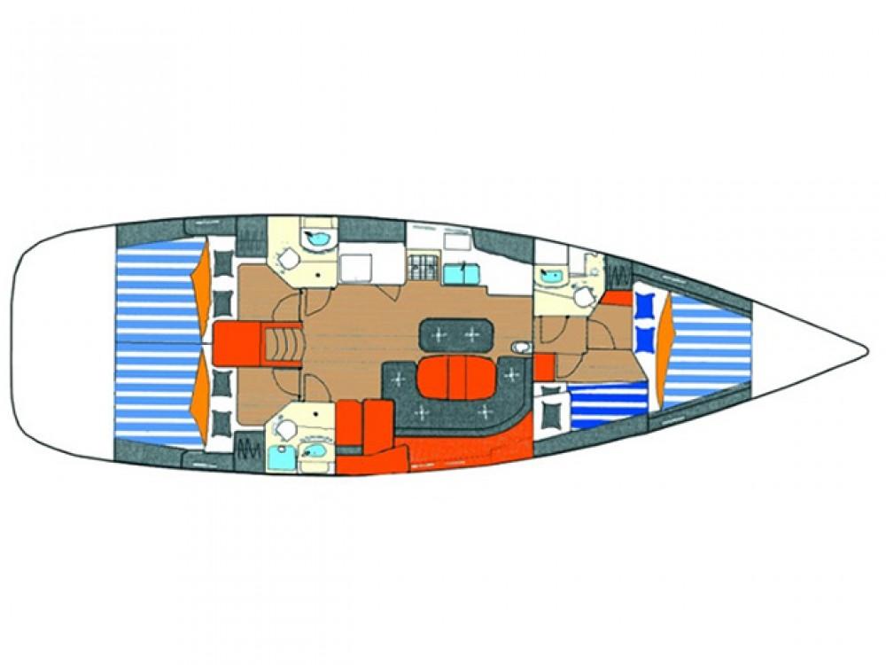 Boat rental Álimos cheap Oceanis 473