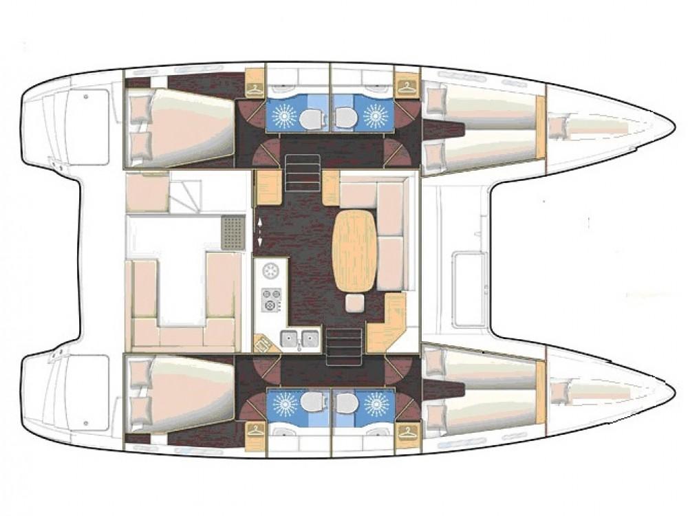 Boat rental Álimos cheap Lagoon 400 S2
