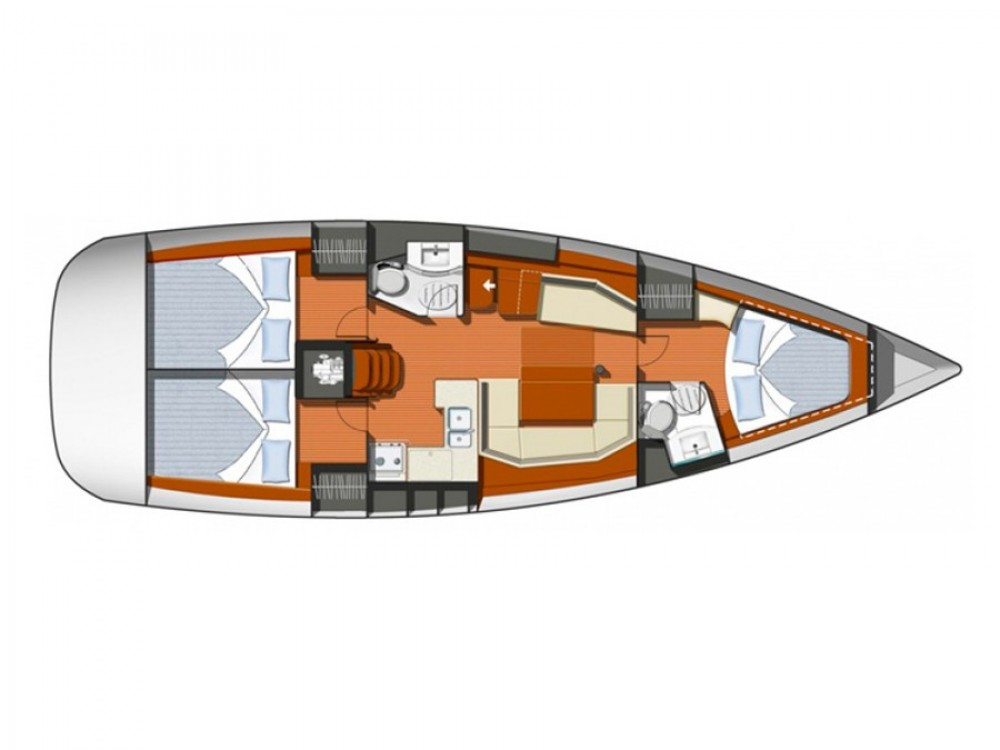 Rental Sailboat in Alimos Marina - Jeanneau Sun Odyssey 42i