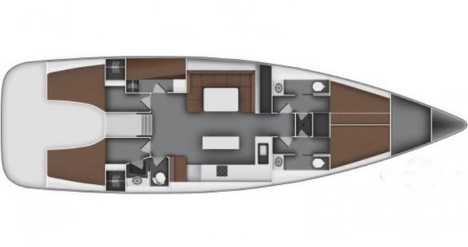Boat rental Bavaria Bavaria 55 Cruiser l in Athens on Samboat