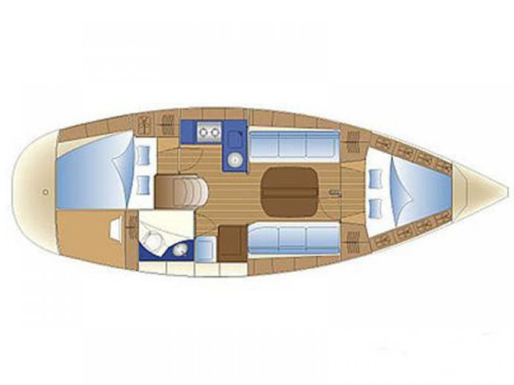 Boat rental Skiathos cheap Bavaria 32