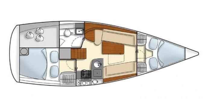 Rental yacht Athens - Hanse Hanse 325 on SamBoat