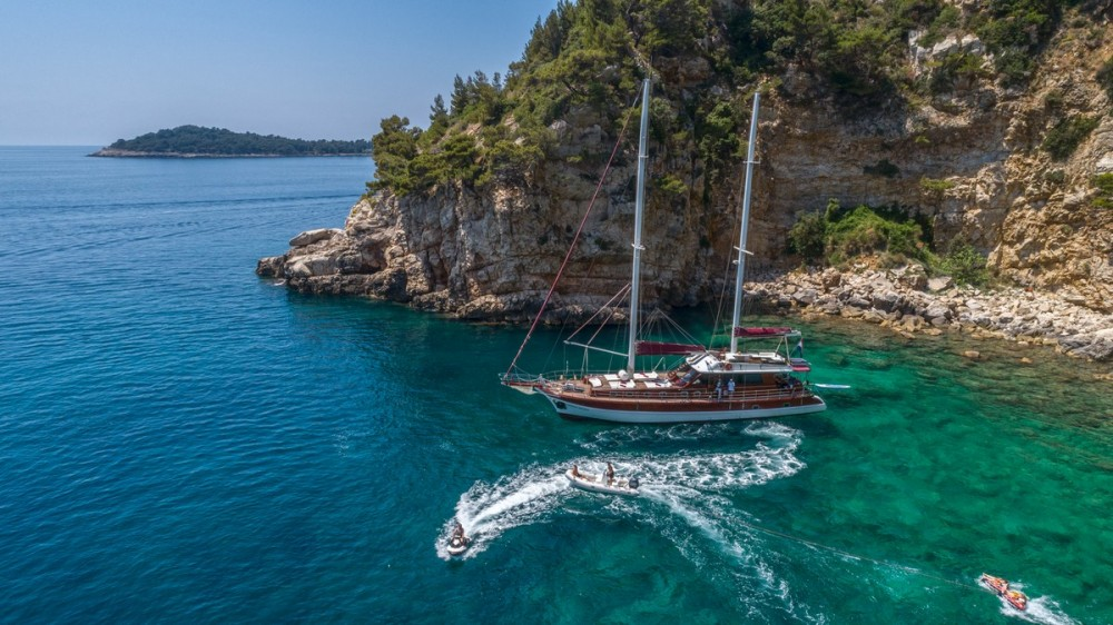 Rent a  Gulet Adriatic Holiday Dubrovnik