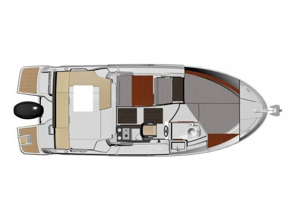 Boat rental Jeanneau Jeanneau Merry Fisher 795 in Split on Samboat