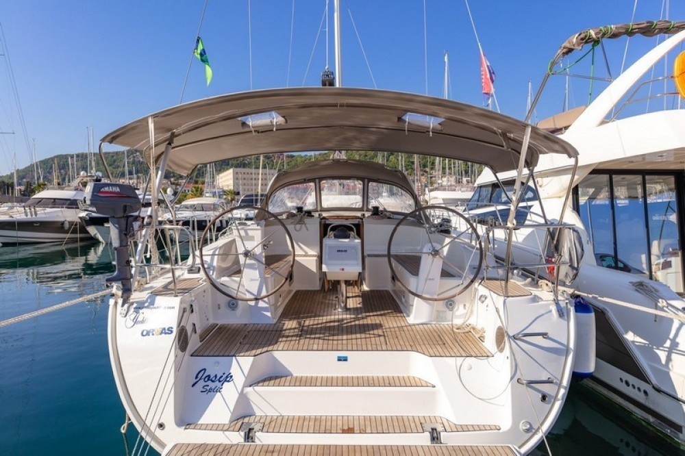 Boat rental ACI Marina Split cheap Bavaria Cruiser 46