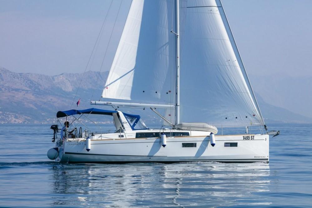 Boat rental Split cheap Beneteau Oceanis 38.1
