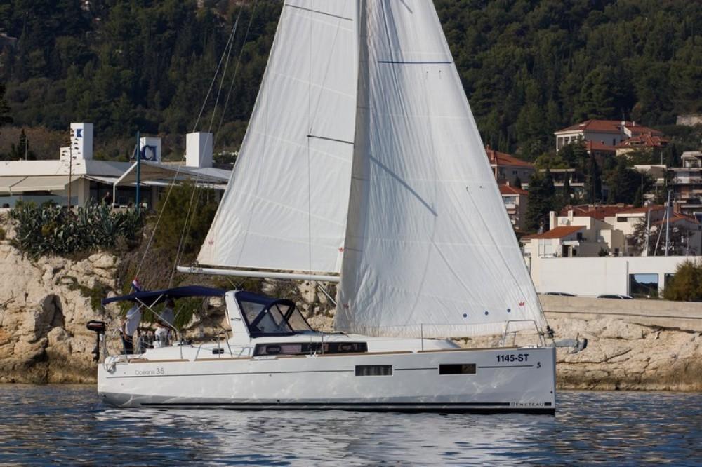 Bénéteau Beneteau Oceanis 35 between personal and professional ACI Marina Split