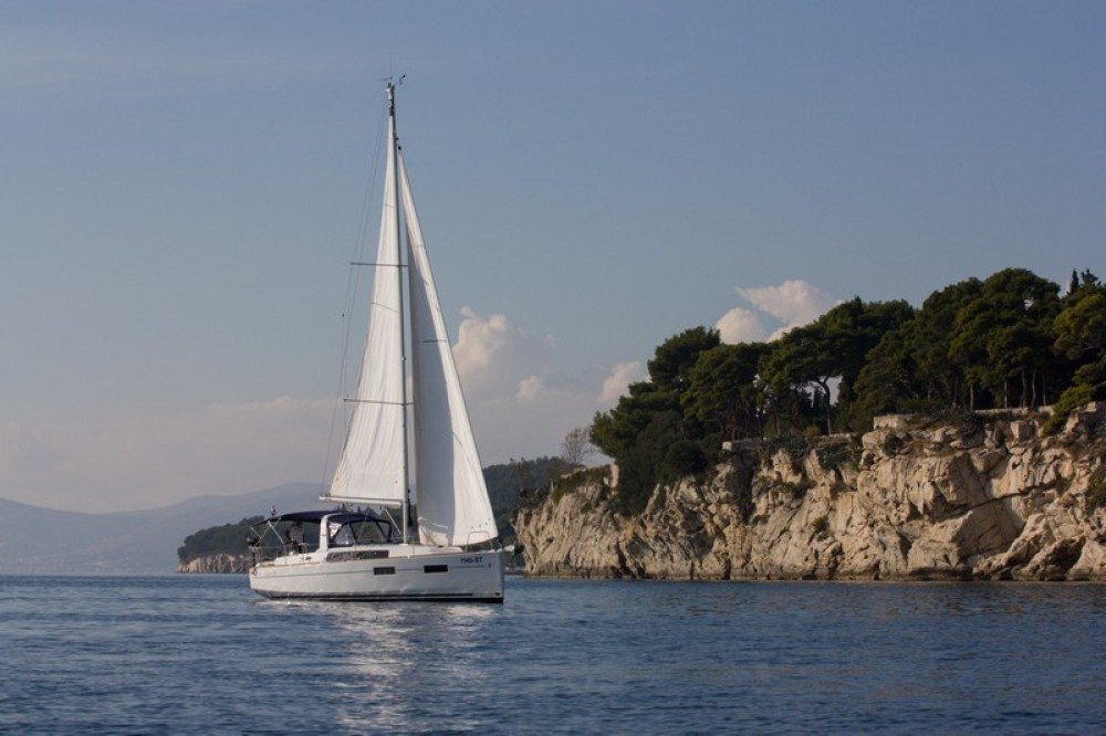 Boat rental ACI Marina Split cheap Beneteau Oceanis 35