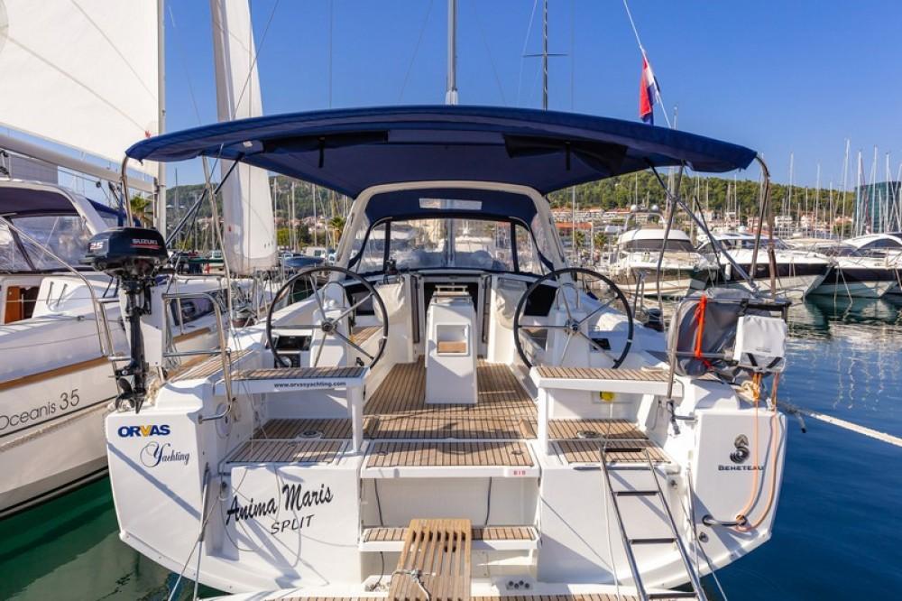 Boat rental ACI Marina Split cheap Beneteau Oceanis 38.1