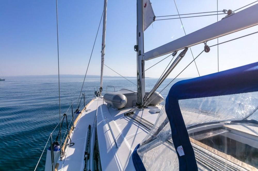 Bénéteau Beneteau Oceanis 38.1 between personal and professional ACI Marina Split
