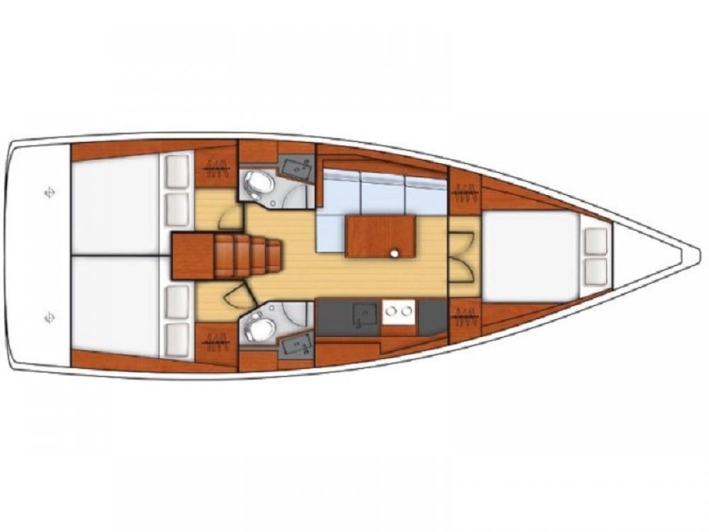 Sailboat for rent ACI Marina Split at the best price