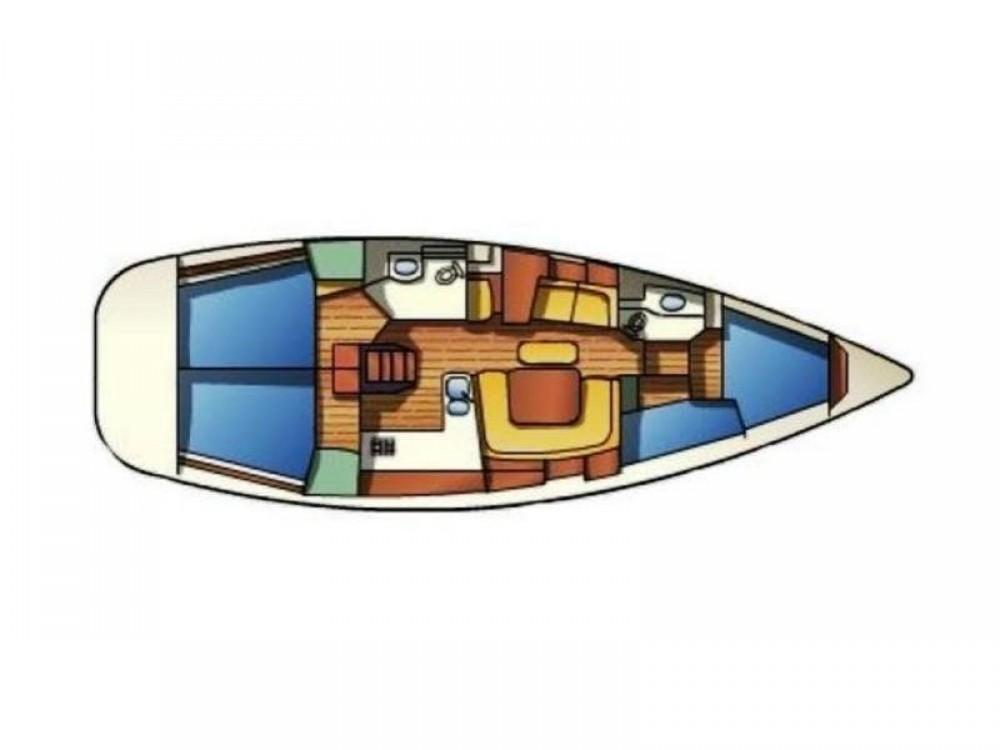 Rent a Jeanneau Sun Odyssey 43 ACI Marina Split