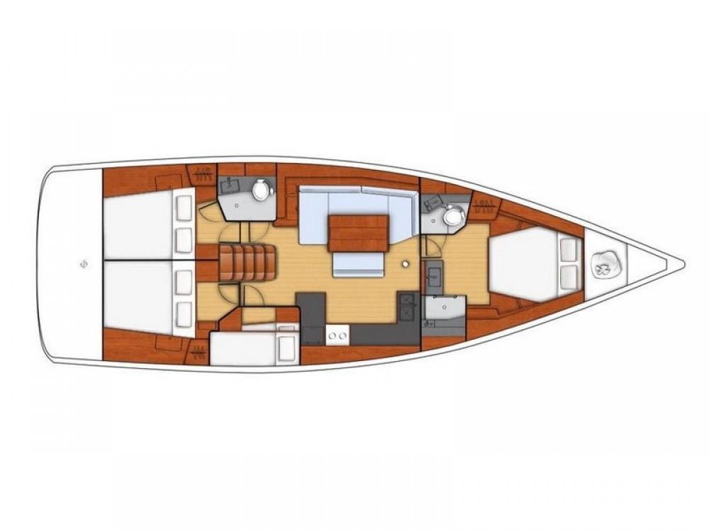 Rental Sailboat in Split - Bénéteau Beneteau Oceanis 48