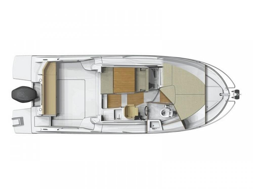 Rental yacht Marina Kaštela - Bénéteau Beneteau Antares 8 OB on SamBoat