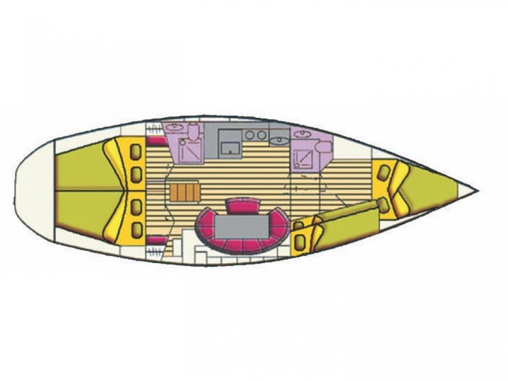 Rental yacht Cala dei Sardi - Bavaria Bavaria 44 on SamBoat