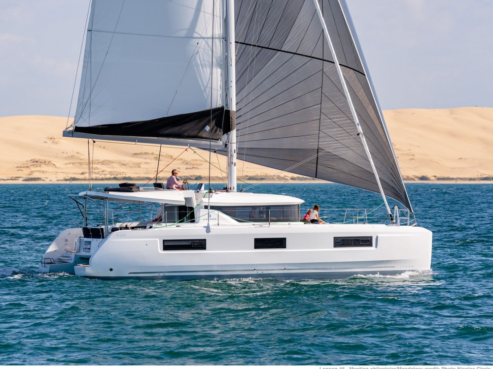 Rental Catamaran in Olbia - Lagoon Lagoon 46