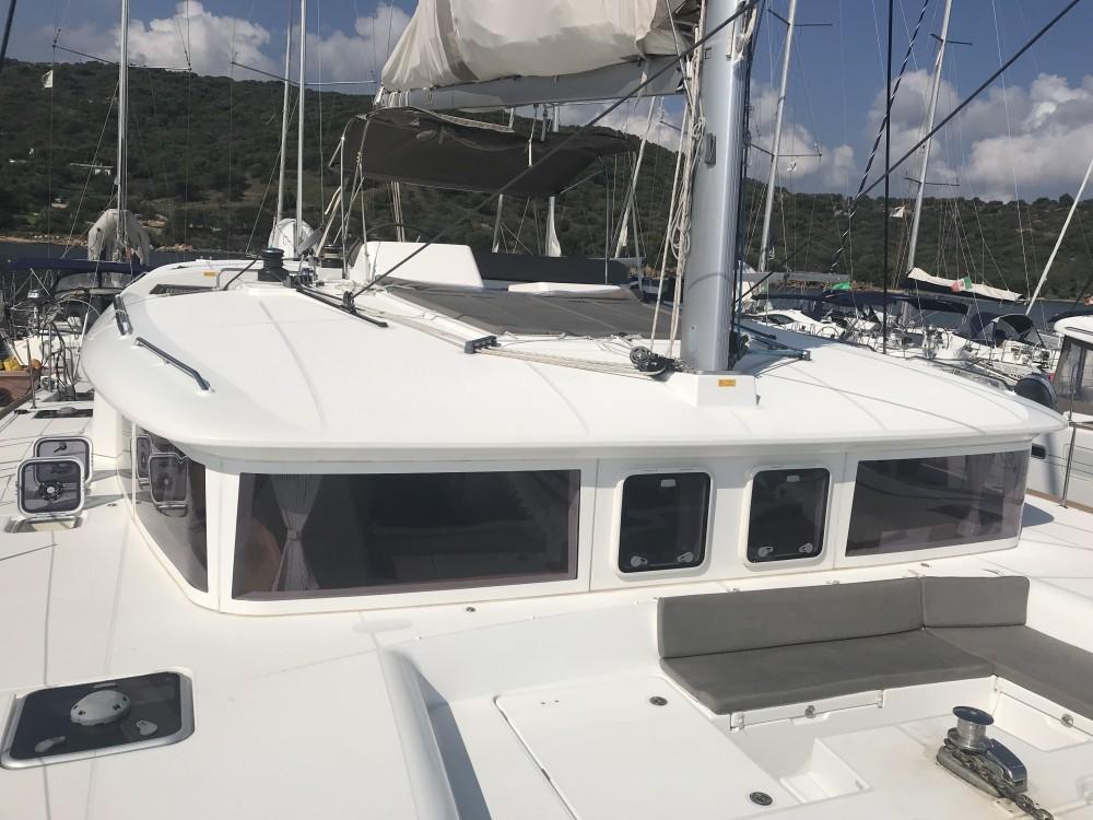 Boat rental Olbia cheap Lagoon 450F