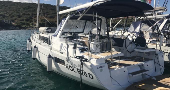 Rental yacht Marina di Portorosa - Bénéteau Oceanis 41.1 on SamBoat