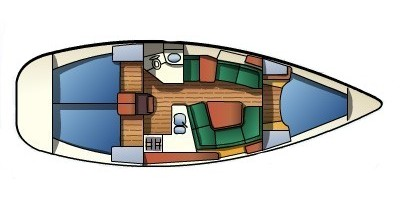 Rental Sailboat in Palma de Mallorca - Jeanneau Sun Odyssey 379